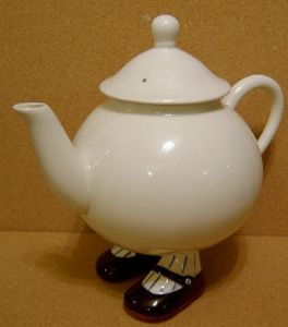 Carlton Ware Lustre Pottery  Walking Ware Large Teapot with Lid - SOLD